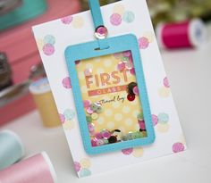 First Class Mini Book by Ashley Cannon Newell for Papertrey Ink (July 2014)