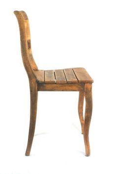 Biedermeier Stuhl vintage gewellte Beine von diegutelinie auf DaWanda.com