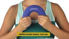 SIMIEN Flexible Rubber Twist Bar Reviews| Tennis Elbow Treatment Tennis Elbow, Flexibility, Fitbit, Bar, Youtube, Back Walkover, Youtube Movies