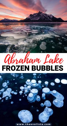 Seeing Abraham Lake Alberta Frozen Ice Bubbles is a bucket list experience. These 12 tips include the best bubble spots, the gear you need and more. Abraham Lake Alberta | Abraham Lake Bubbles | Abraham Lake Frozen Methane Bubbles | Bucket List Canada in Winter | Best things to do in Banff in Winter | Things to do near Jasper National Park | Things to do in Lake Louise Canada | Abraham Lake Photography Tips | Alberta Canada Travel #abrahamlake #canada #alberta #traveltips #banff #jasper…