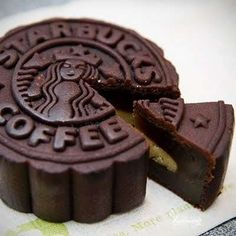 Yes please! Starbucks moon cake. Never seen it, but I want it now!