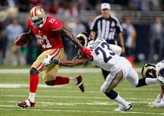 Frank Gore imposed his will against the Rams- 20 attempts for 153 yards and 1 TD. #49ers