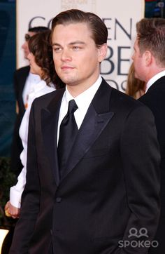 Photo by: Galaxy/starmaxinc.com 2005. 1/16/05 Leonardo DiCaprio at the 62nd Annual Golden Globe Awards. (Los Angeles, CA) ***Not for syndication in Germany!***