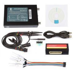 SainSmart DDS140 PC-Based USB Digital Storage Oscilloscope+Logic Analyzer