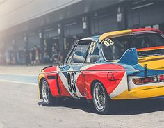Back in 1975 Alexander Calder created the first ever BMW Art Car in the now famed series. Commissioned by French auctioneer and racing driver Hervé Poulain, the 3.0 CSL competed in the 1975 Le Mans endurance race driven by Hervé Poulain, Sam Posey and Jea…
