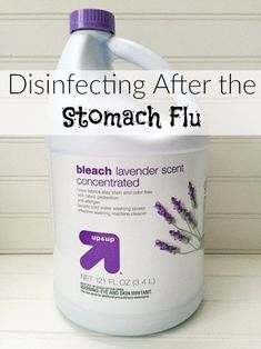 Disinfecting After the Stomach Flu