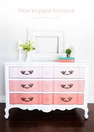 Furniture can add color and texture inexpensively to a room that is otherwise plain. There are a few tricks to making your painted furniture really pop.