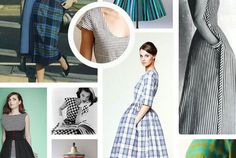 Creative ways to sew stripes and plaids