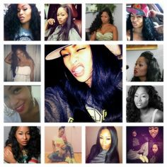 Tae Heckard's mane is always the BIZNESS. (Plus I just love her...her face, her hair, her swag...dopeness)