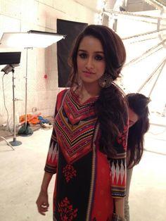 Shraddha Kapoor shoots for Global Desi