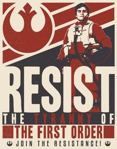 Star wars resistance propaganda