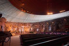 Rock Church - Helsinki, Finland. Photographer: Wanderlust by Jona