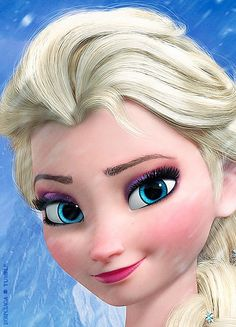 Elsa is the prettiest princess in Disney so far!!!!! Just the braid and the ice dress is just… wow!!!!! Beautiful!!!!!