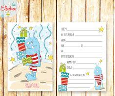 einladungskarten. kindergeburtstag. einschulung. kindergarten, Einladung