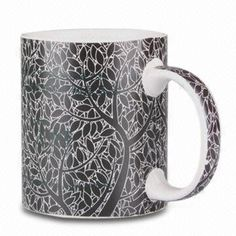 Safe Mug, Made of Ceramic, Various Colors are Available