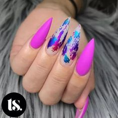 Elegant and Cute Acrylic Nail Designs, unique ideas for you to try in special day or event. Crazy Nails, Dope Nails, Glam Nails, Fancy Nails, Pink Nails, Beauty Nails, Fabulous Nails, Perfect Nails, Gorgeous Nails