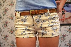 Floral shorts (: