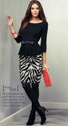 who said animal print doesn't belong in an office?