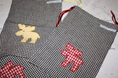 Craftrebella: Last minute Christmas present: Shoebag with elk