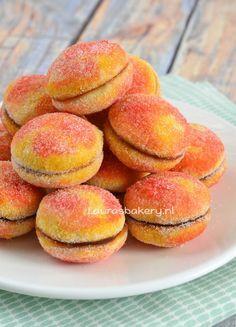 Perzik koekjes (+video) - Laura's Bakery