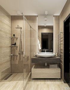 Гостевая ванная первый этаж