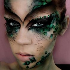 Contest Spotlight: Anete Kula created this look using our 120 Color Eyeshadow Palette 2nd Edition, 10 pcs Deluxe Makeup Brush Set