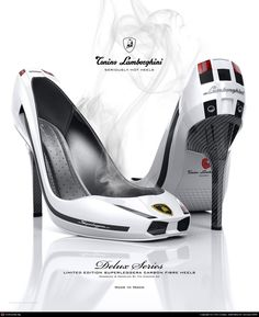Lamborghini Shoes Heels Check out these hot shoes