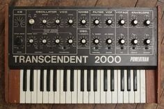 MATRIXSYNTH: TRANSCENDENT 2000 POWERTRAN - Analouge Mono Synth
