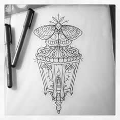 """Blasting this sweet lantern/moth on ma boi @ethangillette tomorrow! #tattoo…"