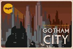 Batman postcard by MyPrint274