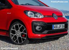 Volkswagen Up GTI 2018 poster, #poster, #mousepad, #tshirt, #printcarposter