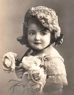 Beautiful old photos from Vintage Rose Album