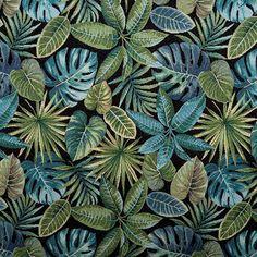 poťahová látka Plant Leaves, Plants, Black, Decor, Products, Decoration, Black People, Plant, Decorating