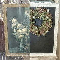 Thrift store find . Before and after.. follow me on IG @diy.vintage.luv