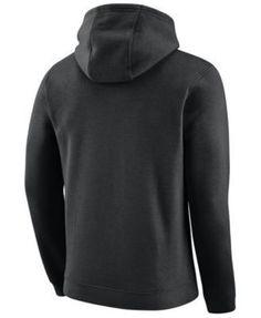 Nike Men's Portland Trail Blazers Logo Club Hoodie - Black XXL