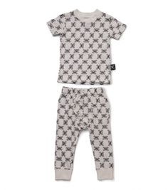 4b68e4530f5 white all over loungewear for kids - NUNUNU WORLD