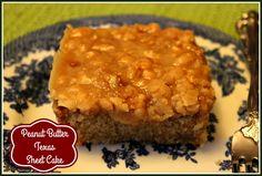 Sweet Tea and Cornbread: Peanut Butter Texas Sheet Cake!