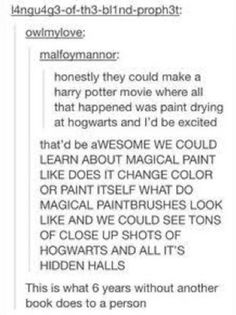 See more ideas about Harry potter universal, Harry potter fandom and Marauders era. Harry Potter All Movies, Harry Potter Tumblr, Harry Potter Facts, Harry Potter Fan Art, Harry Potter Universal, Harry Potter Fandom, Lol Text, Book Memes, Mischief Managed