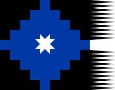 Lautaro flag - Flag of the Mapuches - Wikipedia Chili, Tattoo Hals, Don Quixote, Flags Of The World, Native Art, Blackwork, Tatoos, Nativity, Native American