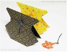 종이언니의 즐거운 토탈공예 :: [신년맞이] 세뱃돈을 넣을 수 있는 복주머니를 종이로 접어봤어요~