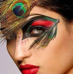 Idee make up di Carnevale   #makeup #carnevale #sceltipervoi #fashion #moda