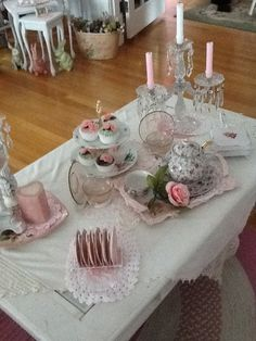 My shabby chic coffee table