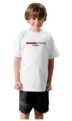 Camiseta Loading... - Nossa Camisa