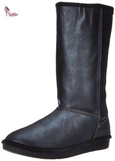 Skechers Australia Shelbys-Montreal Femmes US 6.5 Noir Botte de Neige - Chaussures skechers (*Partner-Link)