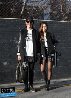 On The Street, Seoul… Lee Sang Hui & Lim Su Bin