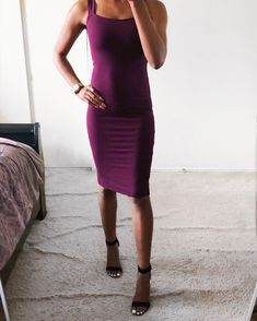 e80ac21124a6c Affordable Outfits   Styles (  twodivine) • Instagram photos and videos.  Aubergine plum Forever 21 Dress. Two Divine