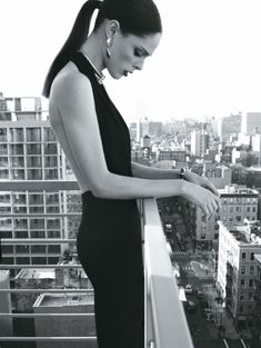 Gorgeous photo:  Coco Rocha for Elle Brazil - May 2012