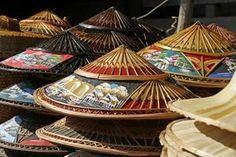Cómo hacer un sombrero de paja chino