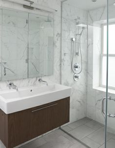 PALETTE PROFILE A Gray White And Wood Bathroom By Pedro