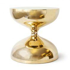 Modern Furniture   Hans Hourglass Side Table   Jonathan Adler